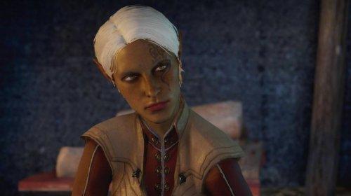 Female elf mage inquisitor