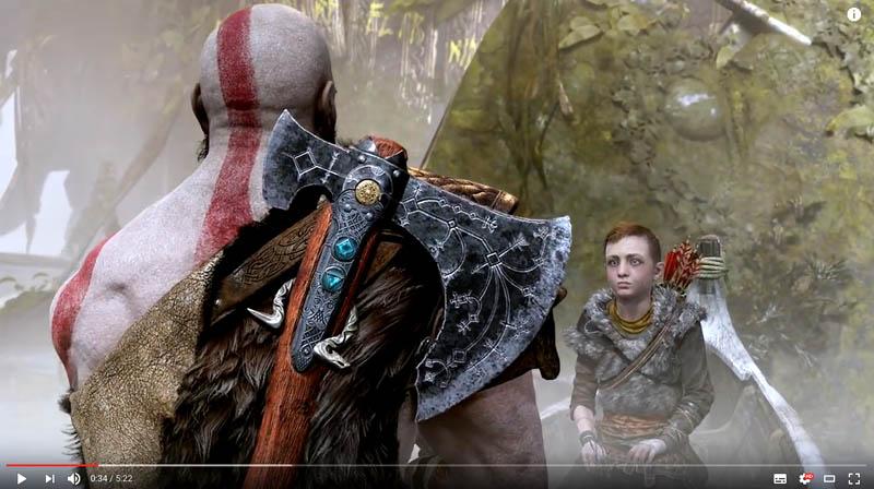 God of war trailer e3 2017
