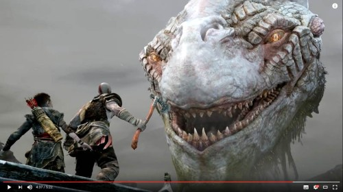 God of war trailer e3 2017