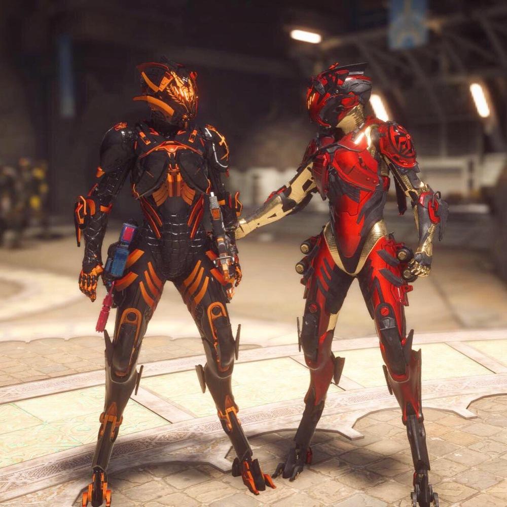 sweepshriek armor cymarin anthem gaming