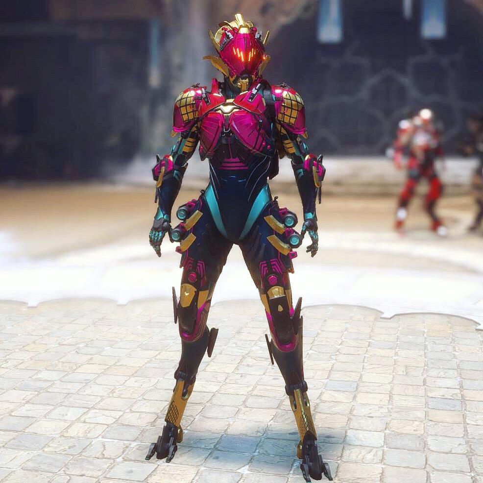 anthem game cymarin interceptor gameplay